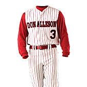 Alleson Adult Varsity Vest Baseball Jersey