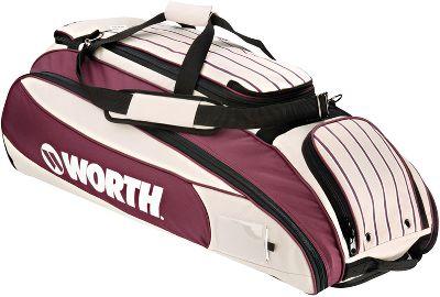 Baseball Worth Mayhem Wheeled Player Bag Bags