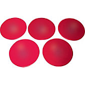 "KBA 9"" Red Poly Spot Marker"