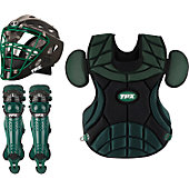 Louisville Pulse Static Black/Green Adult Catcher's Set