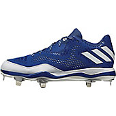 Adidas Men's PowerAlley 4 Low Metal Baseball Cleats