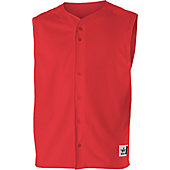 Alleson Adult Warp Knit Solid Baseball Vest Jersey
