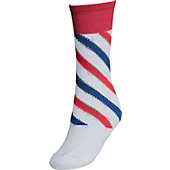 Twin City 2-N-1 Candy Stripe Socks (X-Small)
