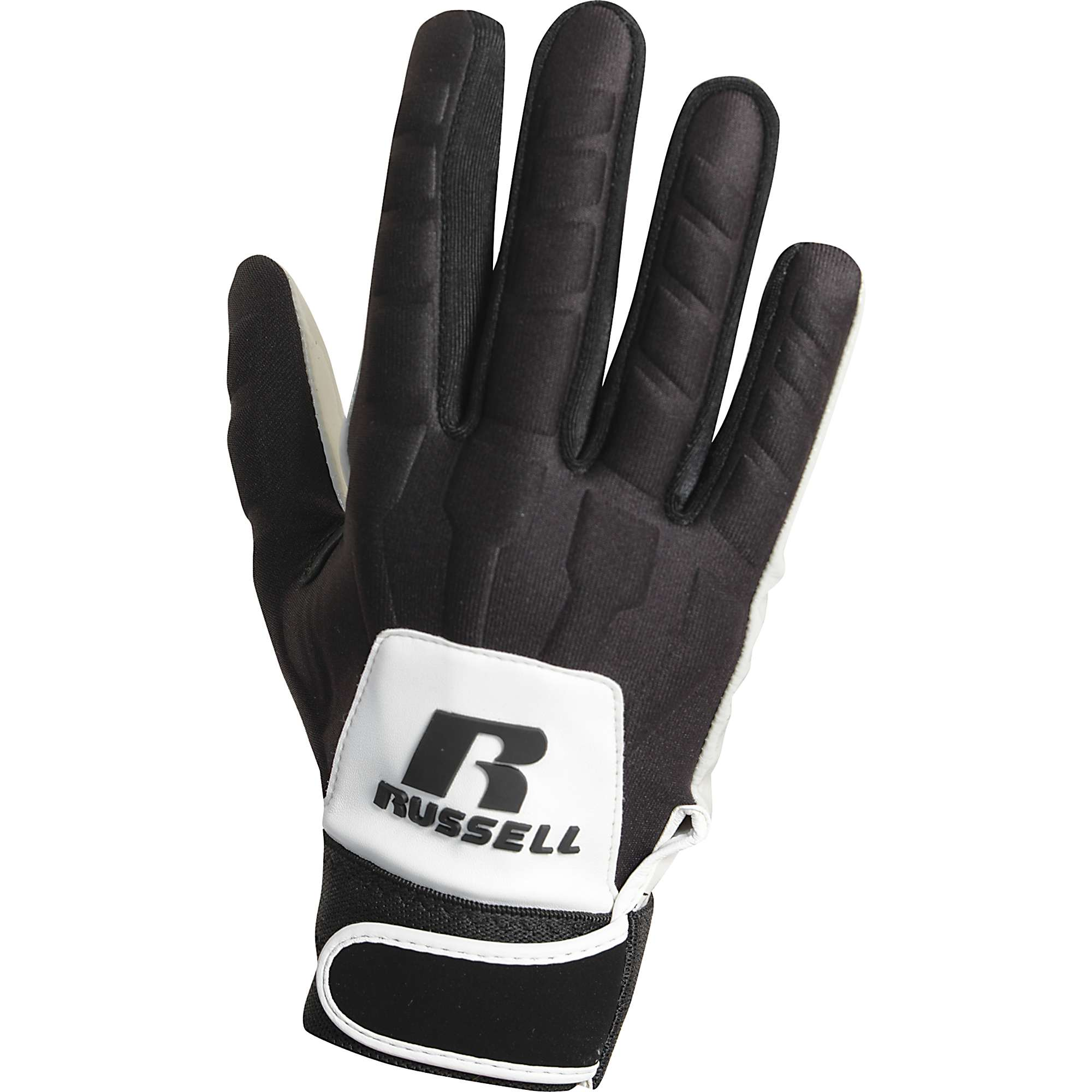 Nike Lineman Gloves Xl: Russell Adult Lineman Football Gloves