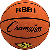 Champion Sports Official-Size Rubber Outdoor Basketball