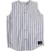 Rawlings Adult Pinstripe Sleeveless Baseball Jersey