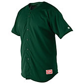 Rawlings Full-Button Adult Baseball Jersey