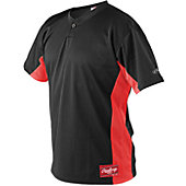 Rawlings Men's One Button Baseball Jersey