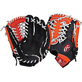 "Rawlings RCS Series 11.75"" Baseball Glove - Blk/Org"