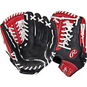 "Rawlings RCS Series 11.75"" Baseball Glove - Blk/Sca"