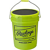 Rawlings Optic Yellow Empty Bucket with Padded Lid