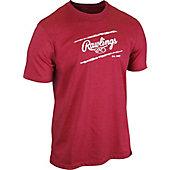 Rawlings Adult Distressed Baseball T-Shirt