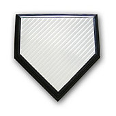ROGERS SPORTS One Time Home Plate Top Small Groove
