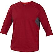 Rawlings Men's 3/4-Sleeve Performance Shirt