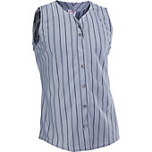 Rawlings Women's Sleeveless Pinstripe Softball Jersey