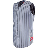 Rawlings Youth Sleeveless Pinstripe Baseball Jersey