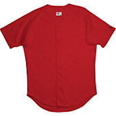 Rawlings Youth Full Button Baseball Jersey