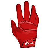 Cutters Adult REV Pro Solid Football Receiver Gloves