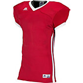 Russell Adult Compression Color Block Football Game Jersey