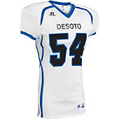 Russell Athletic Adult Color Block Football Jersey