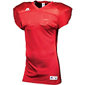 Russell Adult Mesh Football Jersey with Side Panels