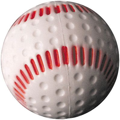 Baden Red Seamed Lite Dimple Baseball