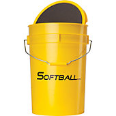 SOFTBALL SALES EMPTY BUCKET WITH PADDED LID