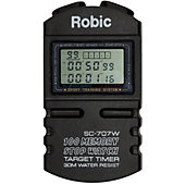 Robic SC-707W 100 Dual Memory Stopwatch / Target Timer