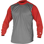 Rawlings Youth Microfiber Long Sleeve Mock Turtleneck Shirt