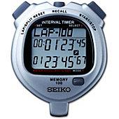 SEIKO S057 - 100 Lap Memory Interval Stopwatch