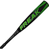"Miken 2015 Freak Black -10 Big Barrel Baseball Bat (2 5/8"")"