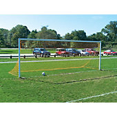 Jaypro Three Piece Semi-Permanent Steel Soccer Goal