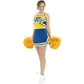 Cheerleading America Adult Custom A-line Skirt w/ Side Vents