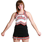 Cheerleading America Adult Custom A-line 2 Vent Skirt