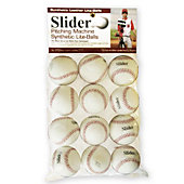 Heater Sports Slider Lite Synthetic Leather Pitching Machine Baseballs (Pack of 12)