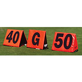 Fisher Foldable Football Sideline Markers
