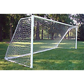 Gared 8-Foot x 24-Foot 4 MM White Soccer Net