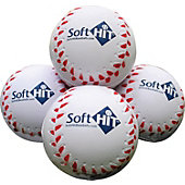Soft HIT Seamed Foam Practice Baseballs (Dozen)
