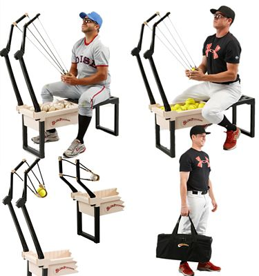 slingshot pitching machine