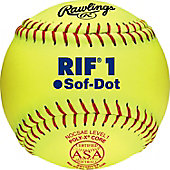 "Rawlings 10"" ASA Pro Tac RIF 1 Fastpitch Softball (Dozen)"