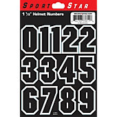 "SportStar 1 1/2"" Block Numbers (0 - 9)"