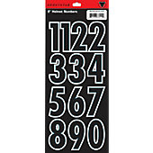 "SportStar 2"" Block Numbers (0 - 9)"