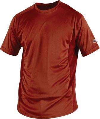 Rawlings Crew Neck Men's Short Sleeve ProDri Shirt