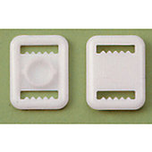 Football America Plastic Chinstrap Buckle - 50 ct.