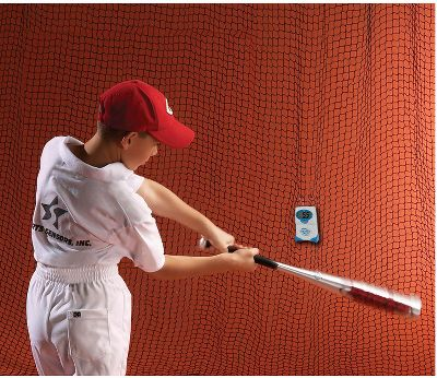 Baseball - Swing Speed Radar Measures Bat Speed