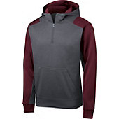 SanMar Sport-Tek Colorblock Tech 1/4-Zip Hooded Fleece Sweat