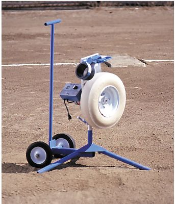 Jugs Super Pitching Machine With Transport Cart   Softball Pitching