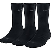 NIKE 14U 3PPK DRI-FIT HALF-CUSHION CREW