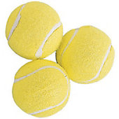 Champion Sports Tennis Balls (3 Pack)