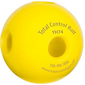 Total Control Training Standard Hole Ball 74 (Multi Pack)